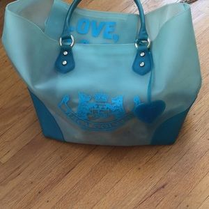 Juicy Couture blue bag large